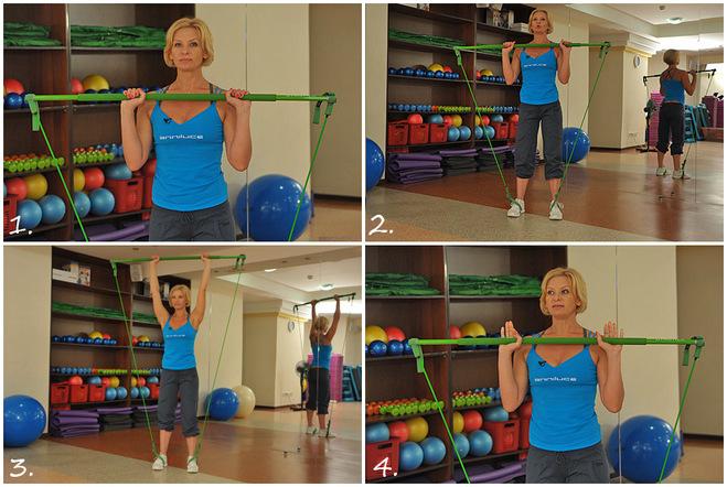 Мастер-класс по фитнесу: качаем ягодицы, делаем бедра стройнее