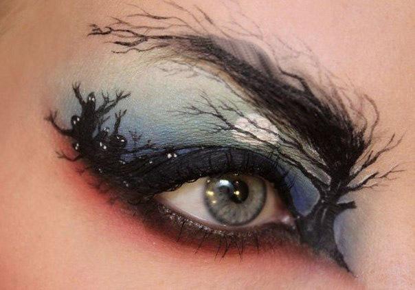 Обалденный макияж от Sandra Holmbom