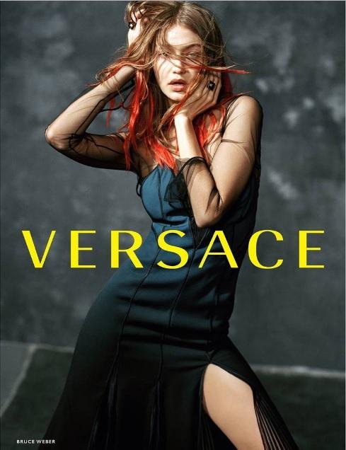Джіжі Хадід для Versace