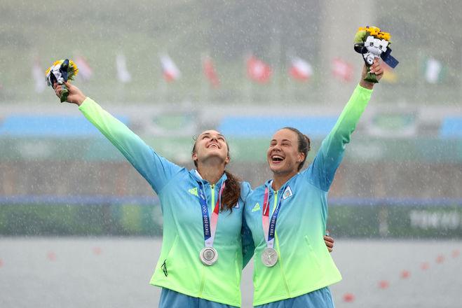 Анастасія Четверікова та Людмила Лузан, Олімпіада 2020