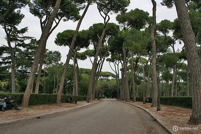 Достопримечательности Рима: парк Боргезе