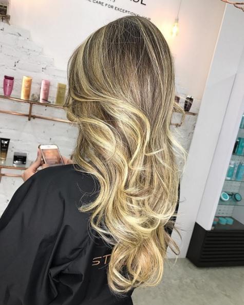 Стробинг волос