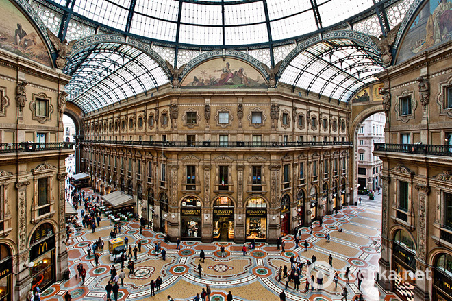 Рождественские распродажи в Милане