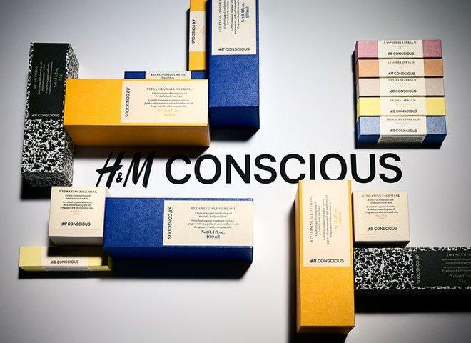 H&M запустил линию органической косметики