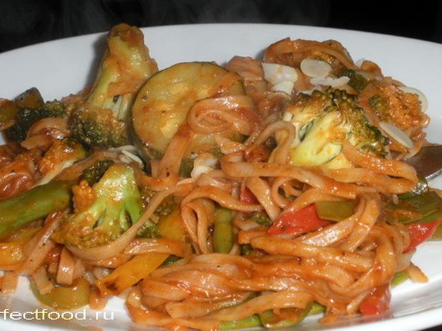 рецепты из цветной капусты вкусные и простые с лапшой