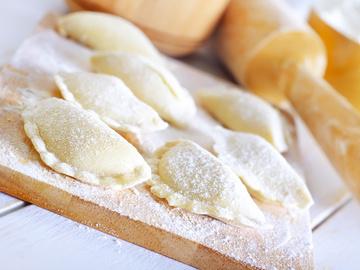 Рецепт вареників із сиром