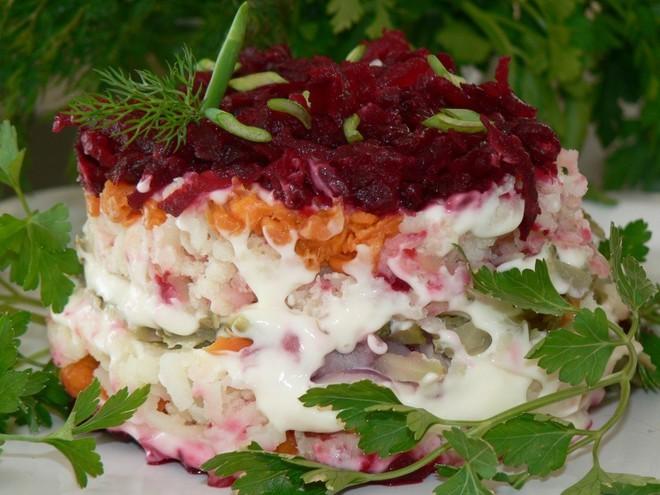 Салат селедка под шубой видео