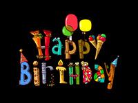 Веселого дня рождения