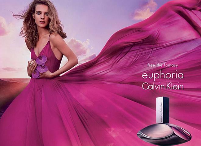 Ейфорія: Наталія Водянова в рекламній кампанії аромату Calvin Klein