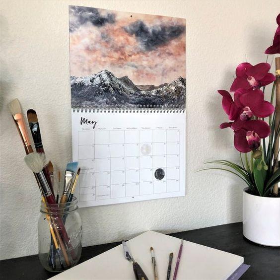 місячний календар на листопад 2020