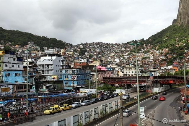 Бразиля фото: Фавелы