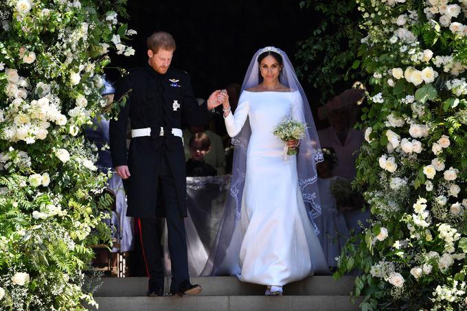 Свадьба принца Гарри, герцога Сассекского, и Меган Маркл