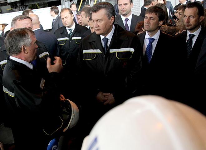Янукович в Донецкой области