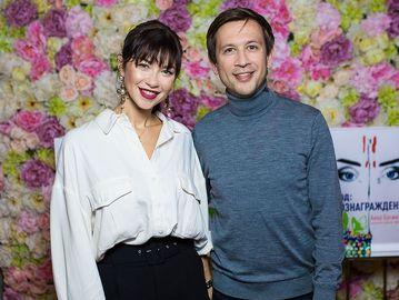 Дмитрий Ступка и Полина Логунова