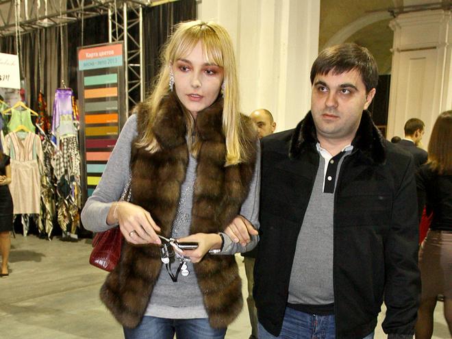 Снежана Онопко с мужем