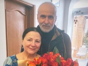 Ніна Матвієнко і Петро Гончар