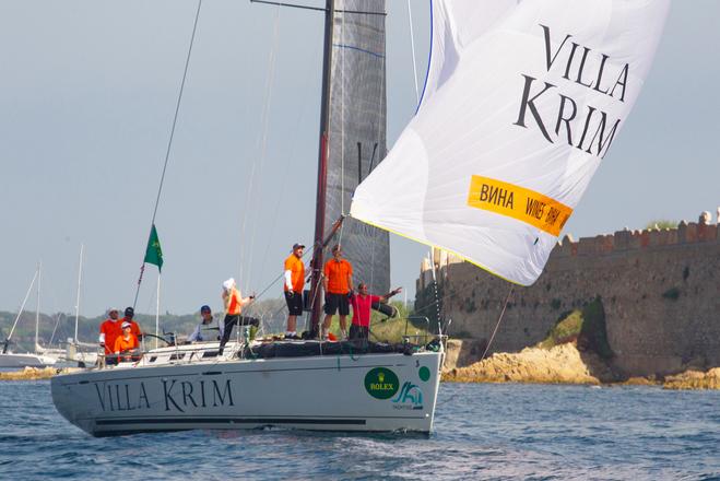 Яхта Villa Krim лидирует  в парусной регате Giraglia Rolex Cup 2018