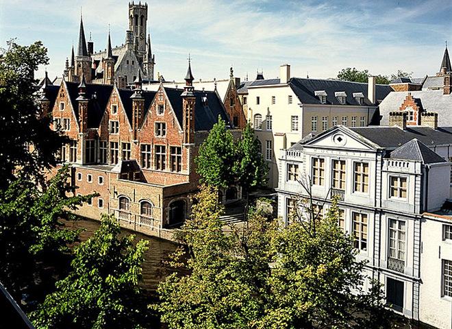Романтичні готелі Європи: Hotel Die Swaene, Bruges