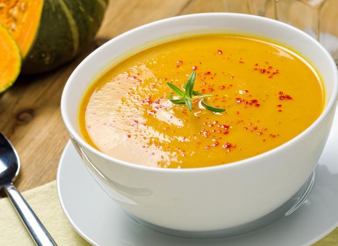 Тыквенный суп калорийность на 100