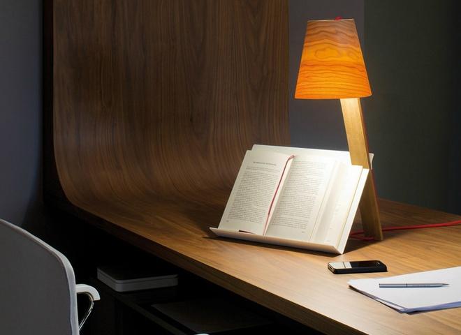 лампа с подставкой для книги