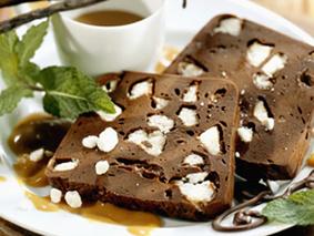 Десерт шоколадный.