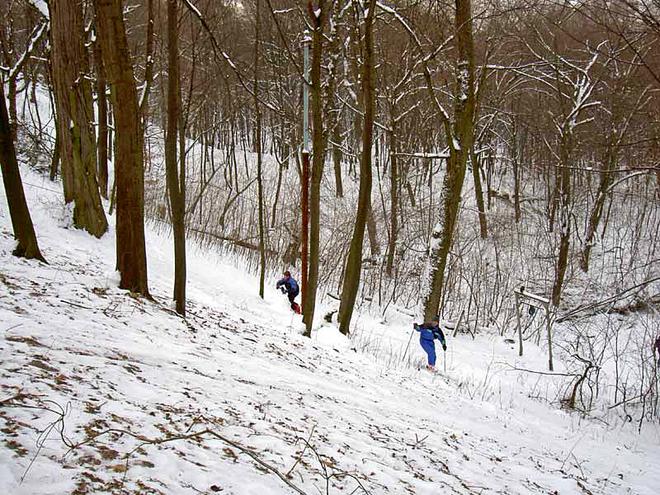 Лыжно-санные горки Киева