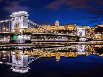 Будапешт взимку