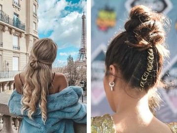 Как красиво уложить волосы