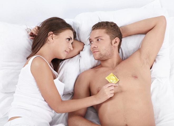 Девушка предложила парню секс без презерватива