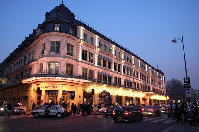 Самые старинные универмаги в мире: Le Bon Marche, Париж