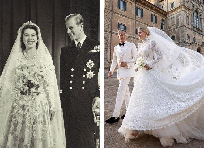 Самые красивые королевские свадебные платья