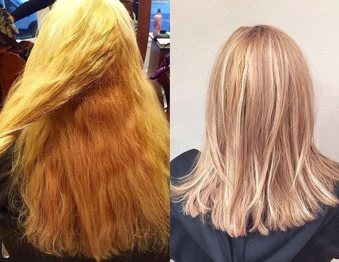 Як ми будемо фарбувати волосся в 2017 році - фарбування Флоранж