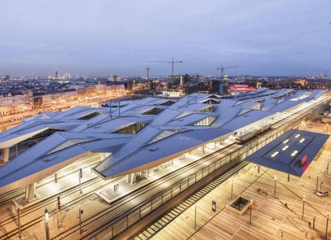У Відні з'явився новий головний вокзал