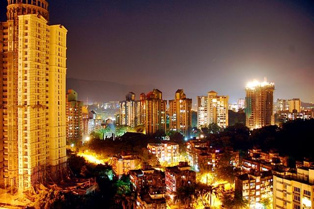 Достопримечательности Мумбаи: ночной Мумбаи