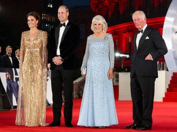 Кейт Миддлтон, принц Уильям, Камилла и принц Чарльз