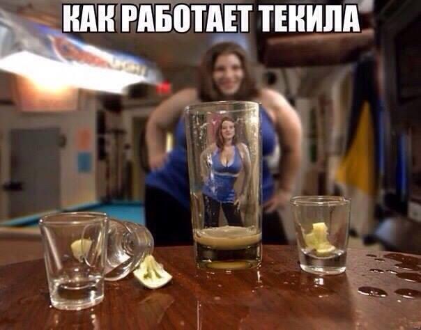 Чем выше градус алкоголя - тем человек прекрасней