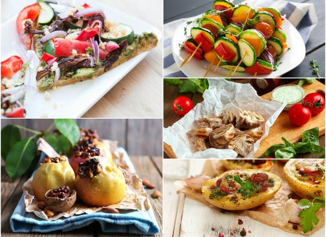 Вегетарианская диета на пикнике