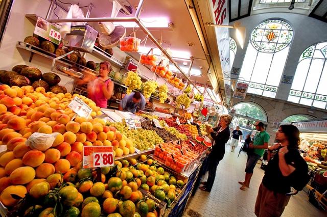Цікаві місця Валенсії: ринок Mercado Central