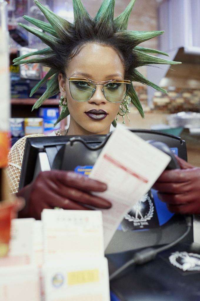 Rihanna for Paper Magazine