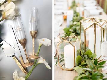 Весільний декор своїми руками: незвичайні ідеї