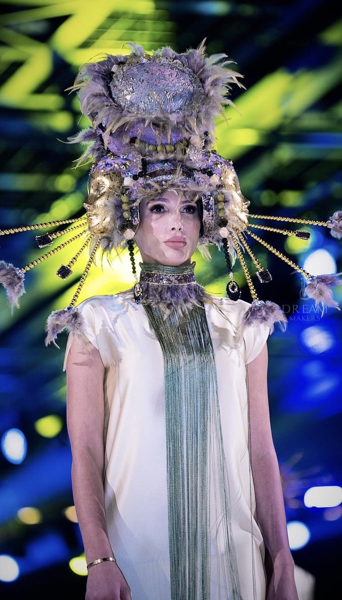 Анна Гомонова взяла участь у Тижні моди в Дубаї