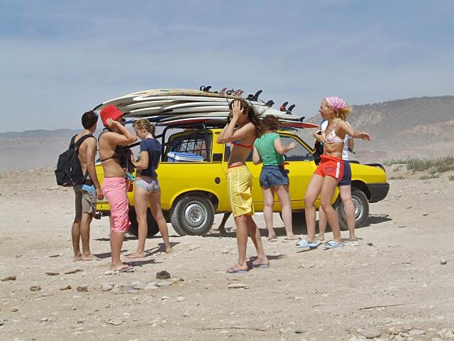 Серфинг в Марокко: Агадир