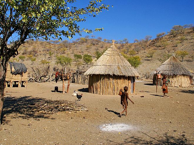 Путешествие к племени Химба