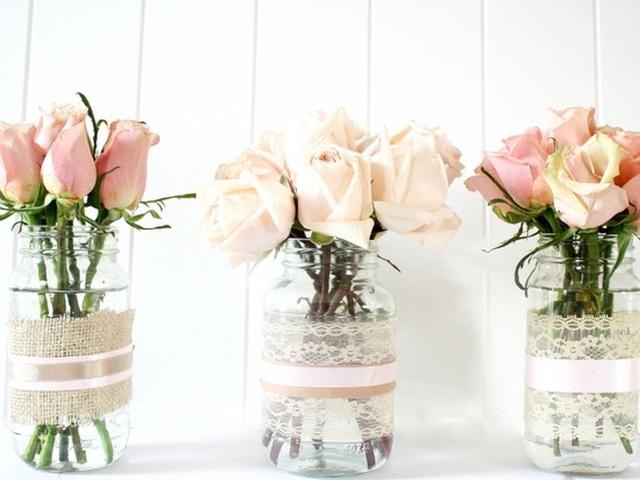Маленькая ваза для цветов своими руками