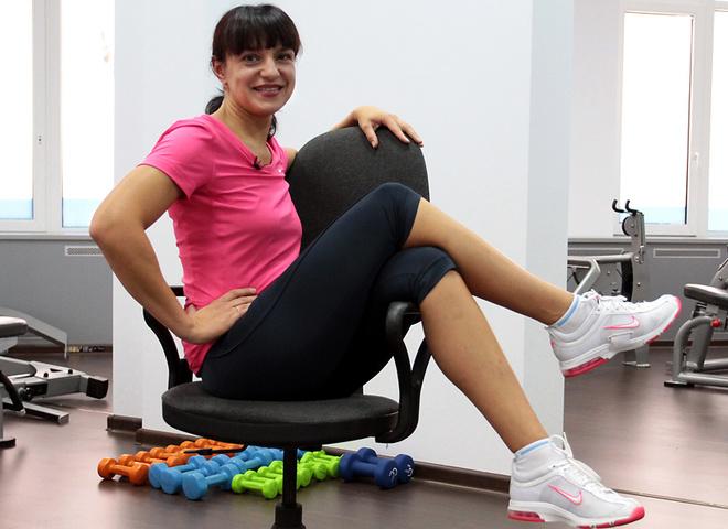 Займись фитнесом, чтобы держать фигуру в форме