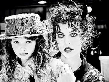 Мила Йовович и Эва Габо на страницах VS. Magazine