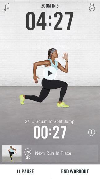 Nike+ Training Club