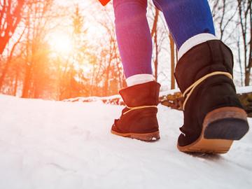 уход за обувь зимой 1+1