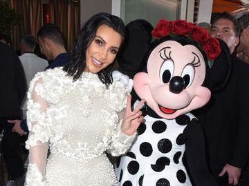 Ким Кардашьян в платье от Givenchy
