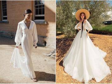 весільні сукні в стилі прованс